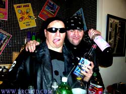 DRCHUD and EVIL start drinkin the JOEY JUICE!