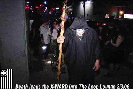 DEATH  LEADS THE X-WARD